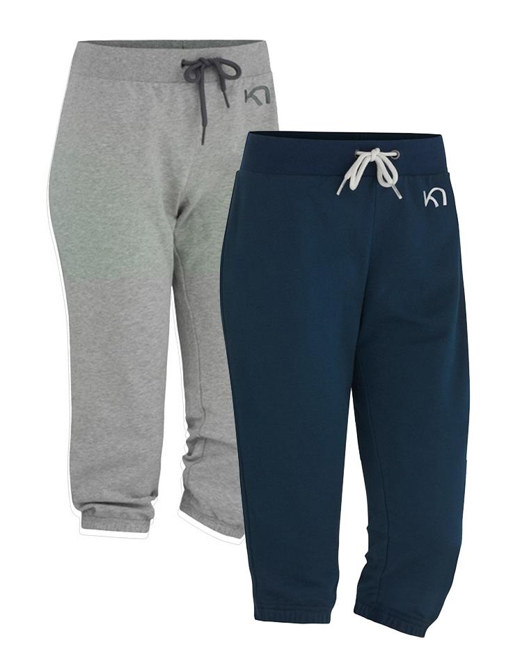 最实穿的针织棉7分裤  美国 KARI TRAAI纯正原单 仅45元 小收口 口袋刺绣 松紧腰针织7分裤