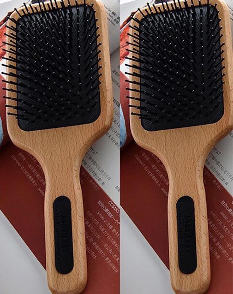 牛货  护发必备的好梳子  仅68元  ROSEMARY订单 大号 榉木气囊气垫  按摩高级木柄梳子