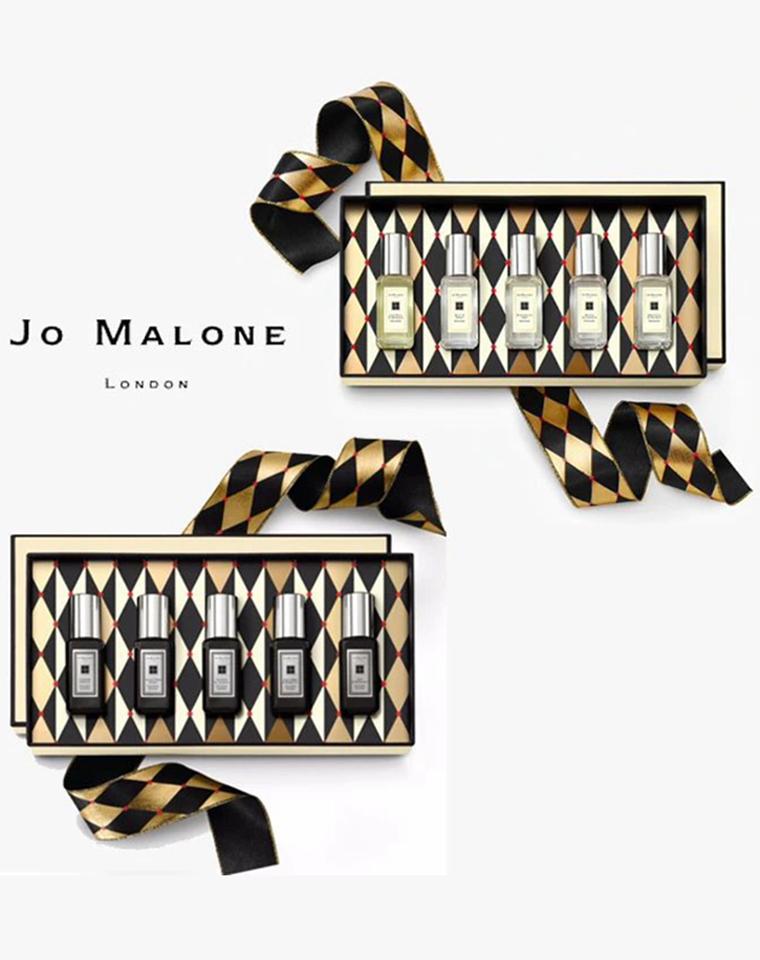 特殊渠道   方便自由混搭  Jo Malone 祖马龙礼盒装  黑白两款  仅185元  小瓶5种味香型  祖马龙套装盒