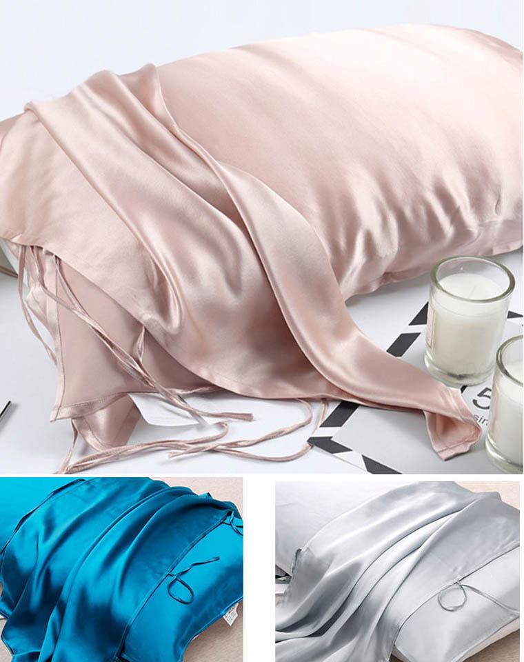 美容觉必备真丝枕巾  仅44.9元  超舒适 真丝枕巾 100%桑蚕丝枕巾