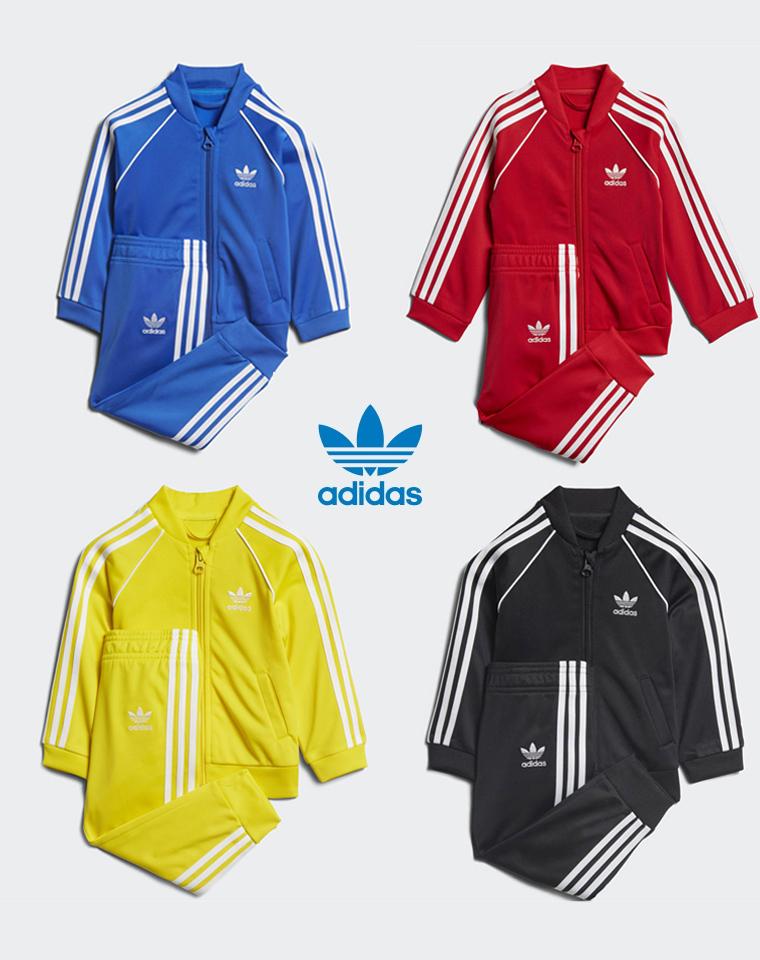 超值捡漏   孩子的套装 仅95元   Adidas阿迪达斯 经典复古三道杠  内里薄绒男女童超美 拉链运动服套装