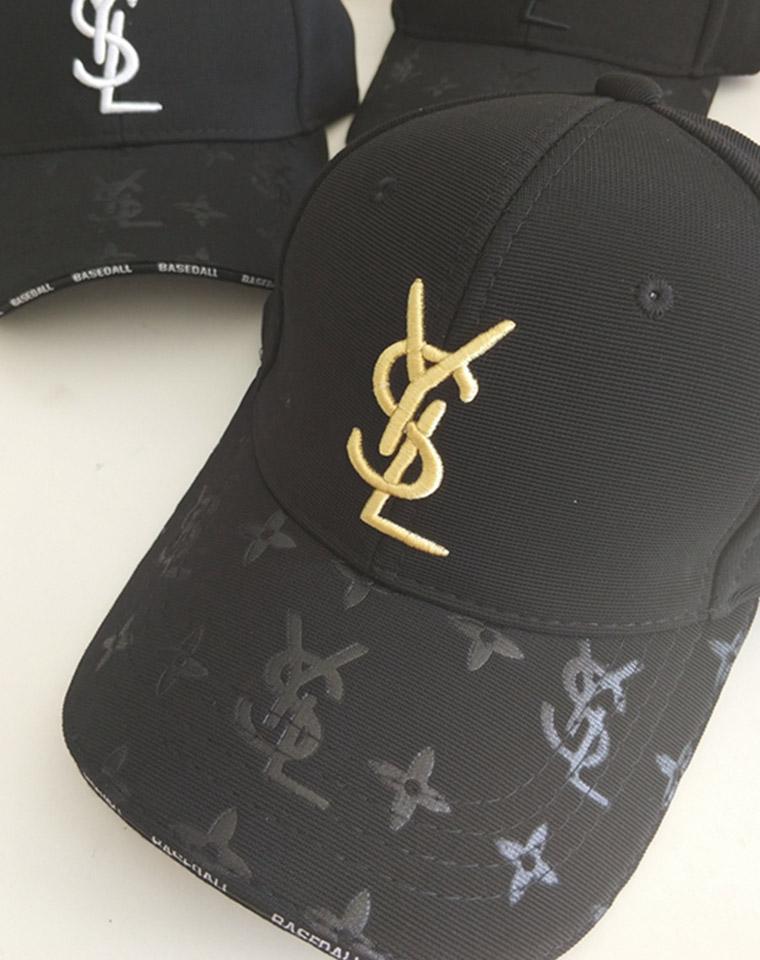 防沾灰订织面料 男女款  仅48元 YSL圣罗兰   高品质棒球帽  区别于市面上普通货