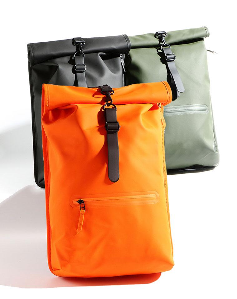 重磅福利   男女款专业防水  仅198元  丹麦专业户外RAINS  高机能户外背包 当季新品
