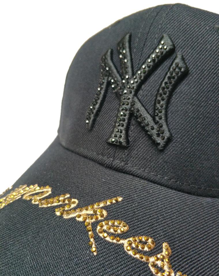 洋基队  仅59元   男女款NY字母镶钻棒球帽