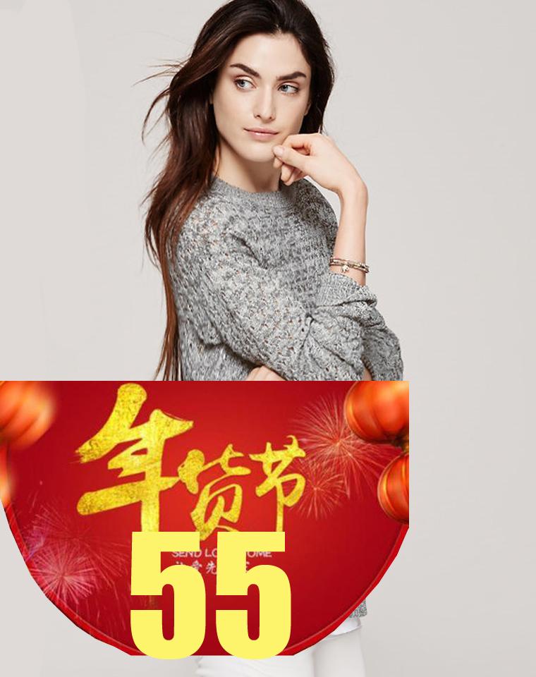 年货节  仅55元   仅69元  美国行政第一品牌 LOFT纯正原单  亚麻混纺 前短后长 中长款镂空衫