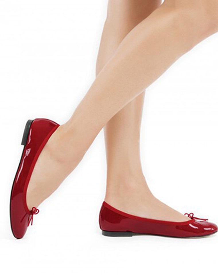 过分美丽芭蕾鞋  仅255元  法国Repetto纯正原单  柔软的小牛皮漆皮  垫脚羊皮 芭蕾鞋