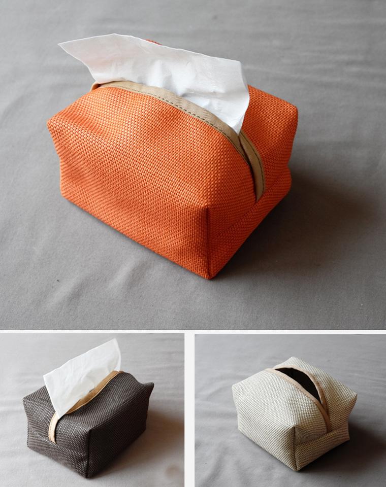 心生美好!日本MUJI订单!仅16.8元   亚麻材质  家居车载复古天然风格  纸巾收纳 纸抽袋