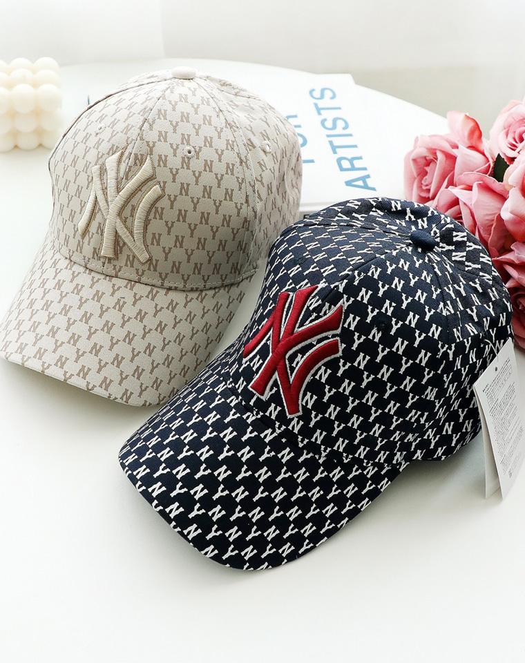 品质棒球帽 仅59元 MLB纯正原单 NY洋基队19年最新  满印棒球帽