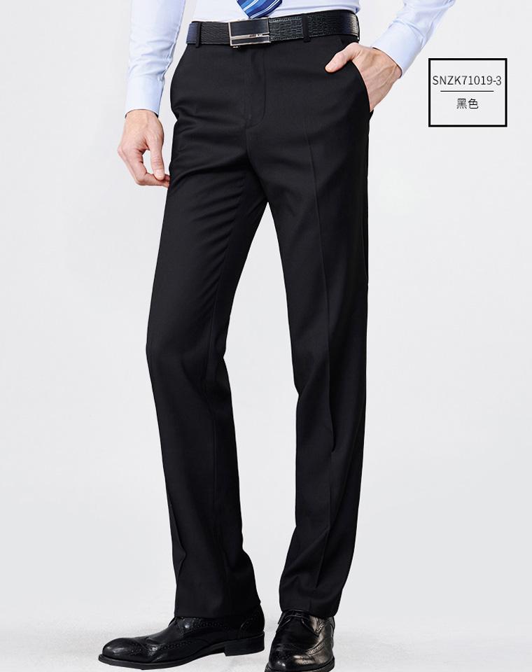 给纯爷们的好货  仅158元  华伦天奴 薄款免烫 西装裤修身商务职业正装裤 西裤商务男裤