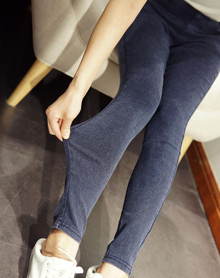 2019秋冬必备  仅89元 松紧腰巨弹力巨显瘦高腰打底裤紧身 外穿长裤