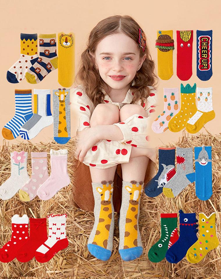 亲妈必收  三双一组   仅22.8元  Caramella纯正原单  小朋友的袜子来啦!