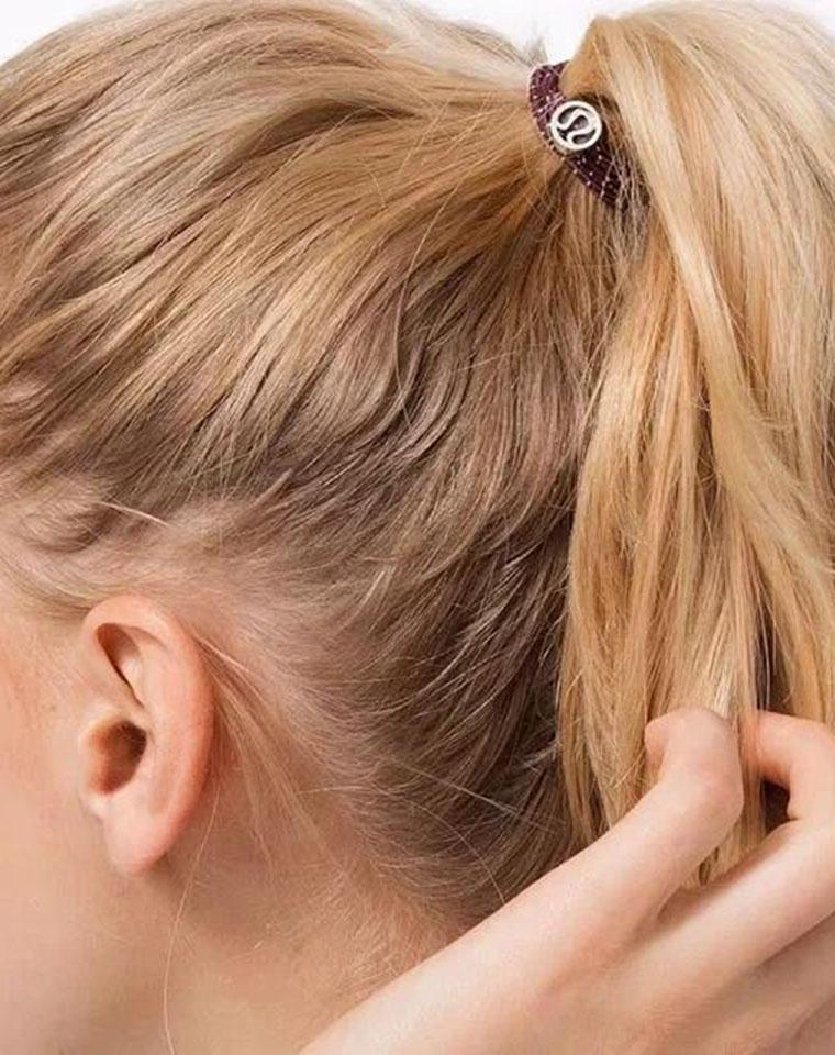 专柜380元!就一批 强烈推荐 贸易公司品质订单 仅85元 Glow on hair 瑜伽运动发圈 可做手环 铁盒套装