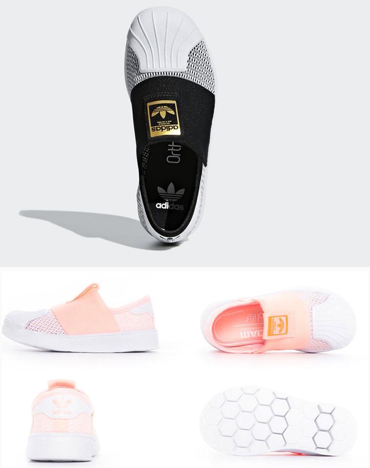软贝出了春夏网面!!一定给孩子带!仅88元!!!渠道好货!! 春夏网面  adidas阿迪达斯三叶草贝壳头童运动鞋