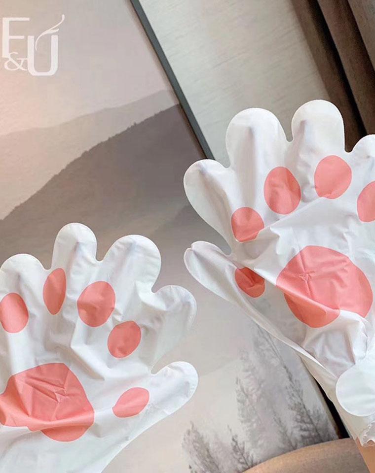 不能吃东西不能玩手机的手膜 不是好手膜~仅11.9元  FU订单猫爪手膜