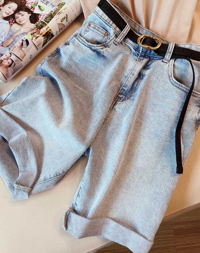 亲要是没有一条中裤jue对out了  仅105元 超好品质 高端超柔软! 牛仔中裤