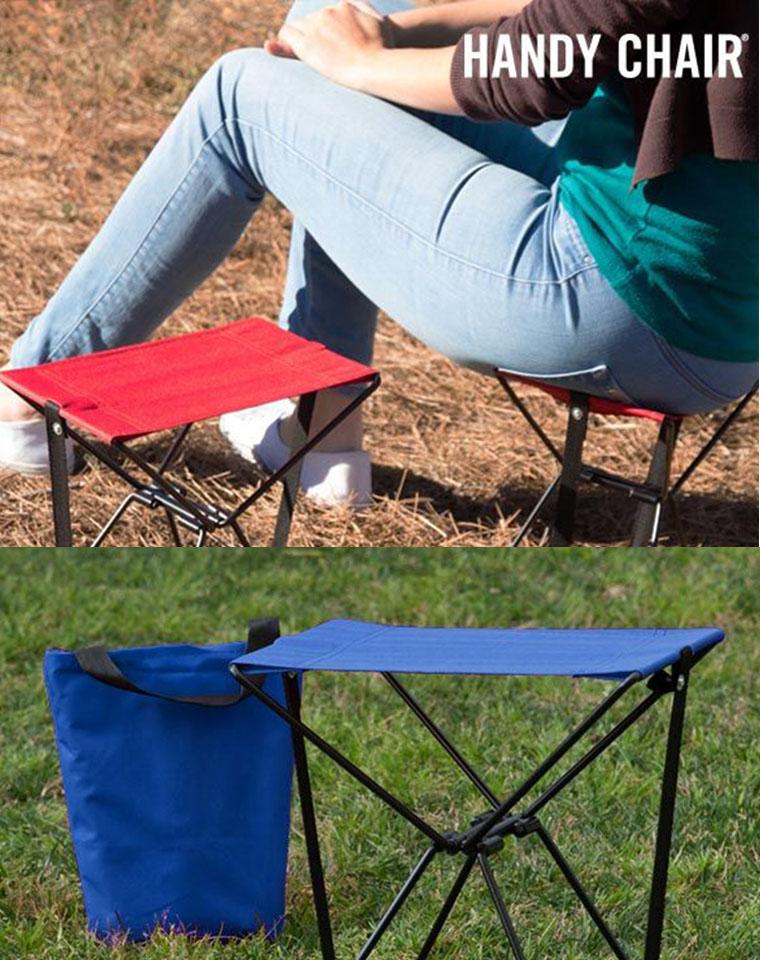 3秒可折叠  超结实便携!!走到哪里带到哪里!仅14.9元  出口外单!迷你便携折叠椅钓鱼凳