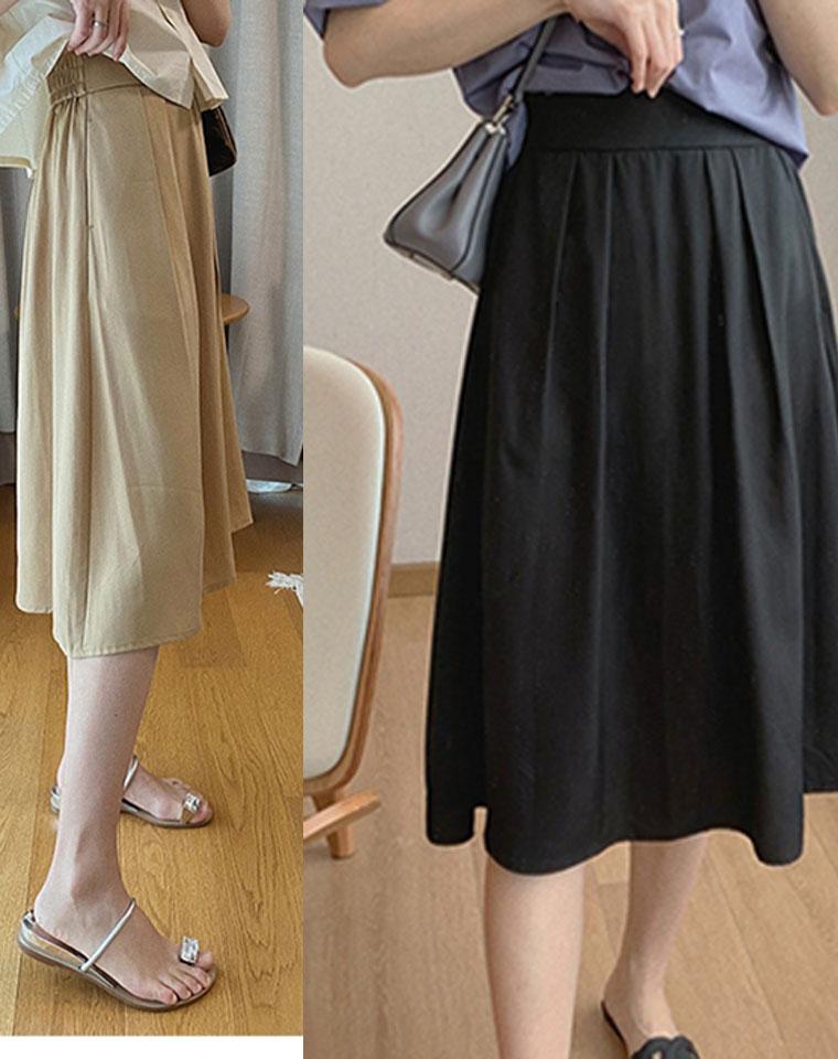 高端日系清氧感 通勤超实穿 仅128元  垂感天丝气质百搭A字伞裙半身裙中裙 剪标