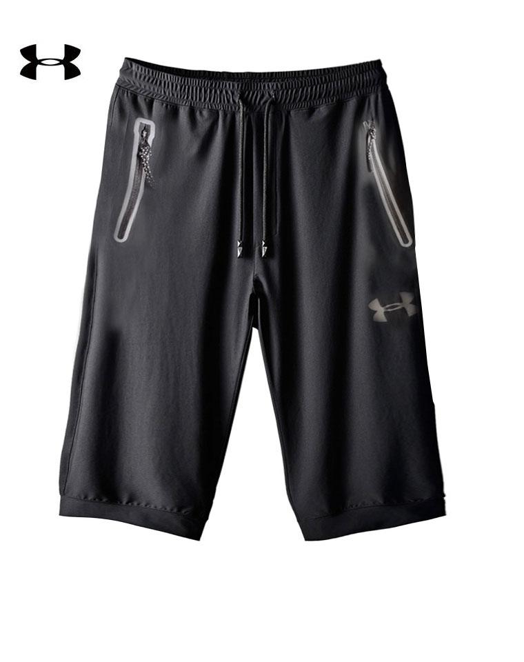 给纯爷们の   最新微孔弹力速干材质  仅85元    美国Under Armour安德玛男款速干裤  5分裤
