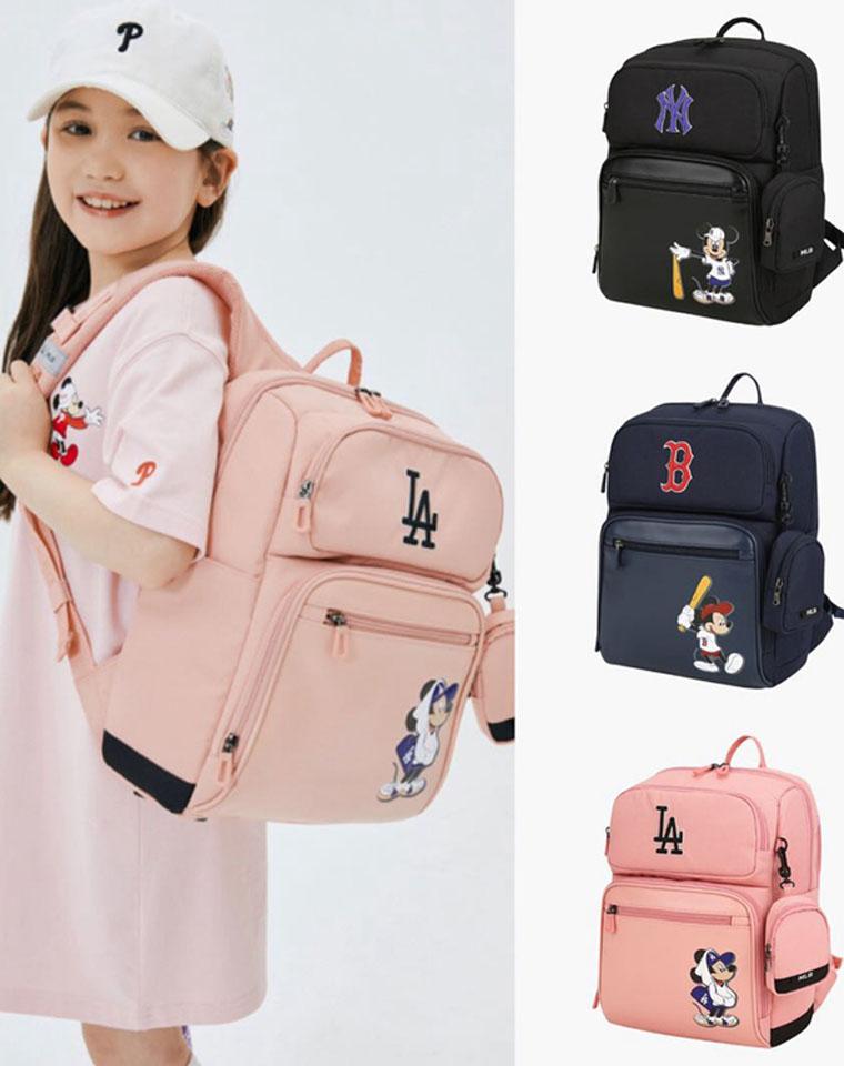 给孩子最好的!仅185元   MLB迪士尼联名高端双肩书包 手提袋两件套