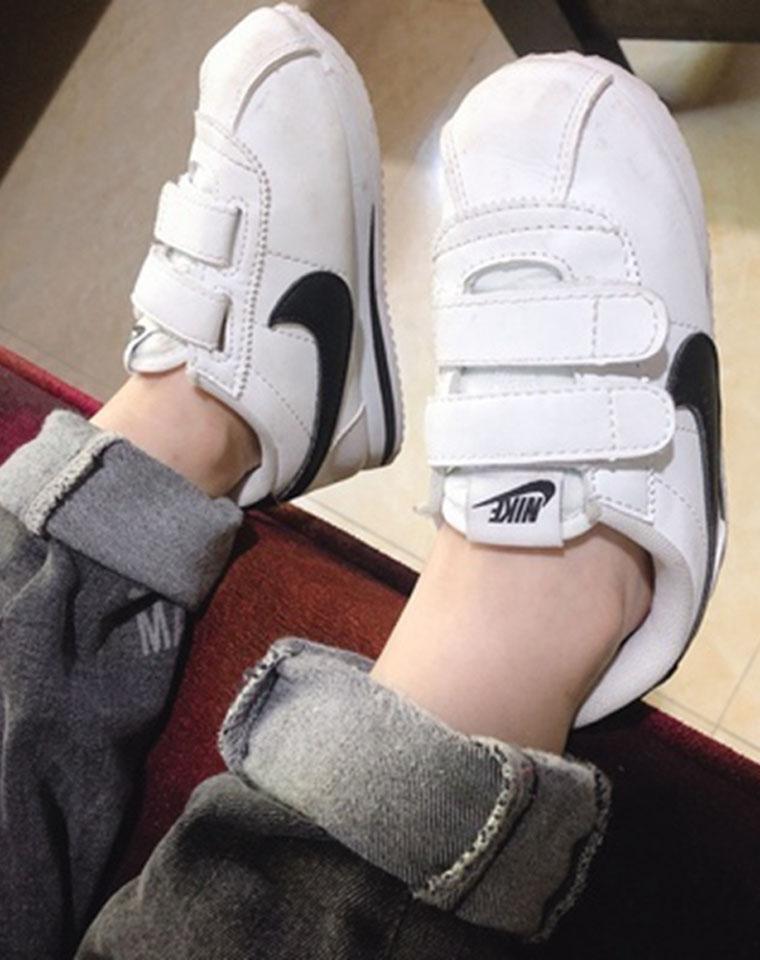 超洋气阿甘鞋!男童女童都有!仅125元  Stranger Thing.s x Nike Classic Cortez QS 阿甘怪奇物语联名复古慢跑鞋