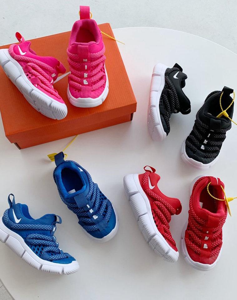亲妈必收  网面毛毛虫  仅75元  最新款撞色透气   毛毛虫儿童鞋 运动鞋男童女童