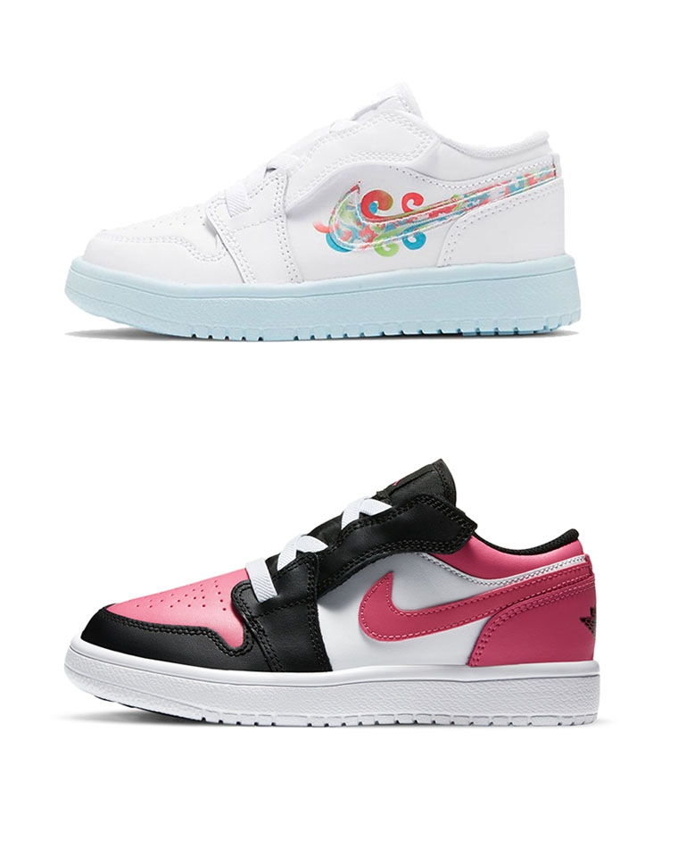 亲妈必收  男童 女童 都有  仅118元 儿童Air Jordan baby魔术贴松紧带   低帮运动鞋  儿童板鞋