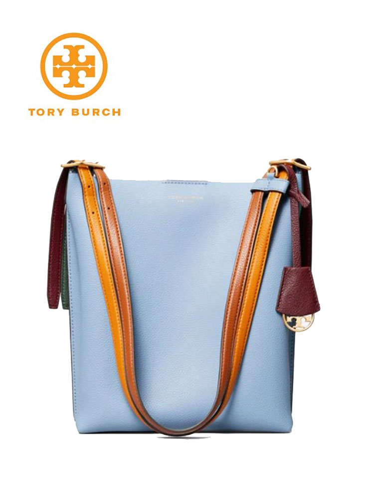 高颜值 TORY  BURCH  托里伯奇 PERRY BUCKET BAG系列 仅498元  3色撞色水桶包