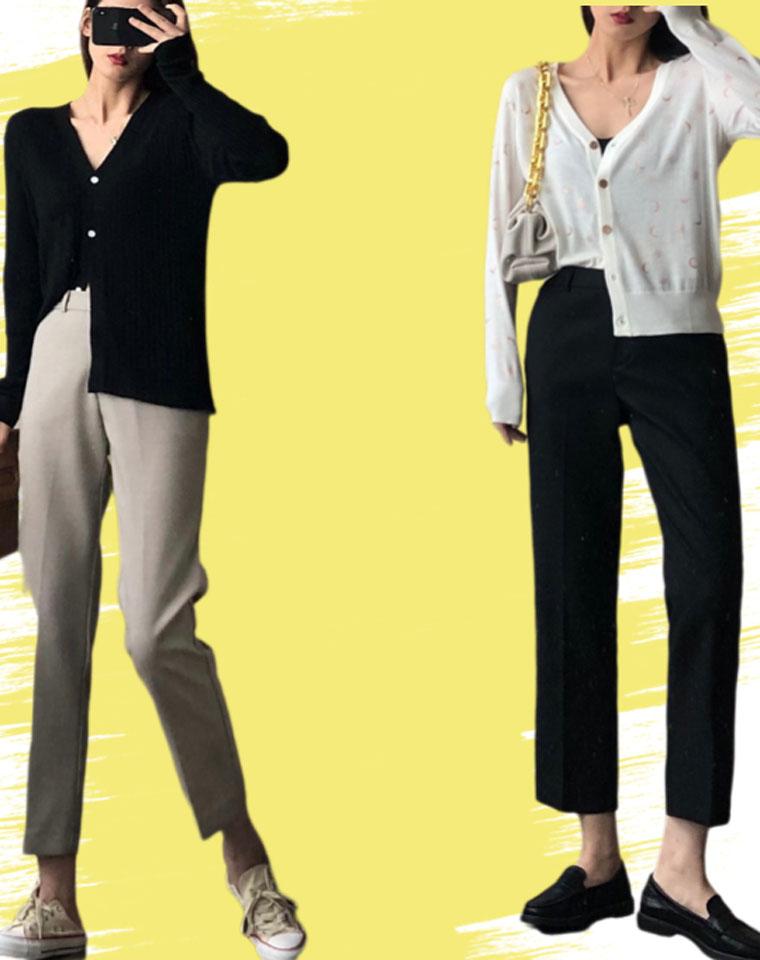 王牌裤 镇店级  仅98元  2020年新款 百搭高腰显瘦垂感品质烟管西裤