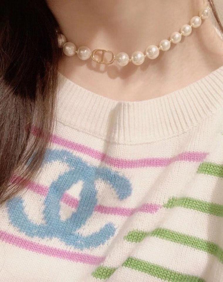 貌美如花  仅188元 228元   Montaigne CD 珍珠项链手链