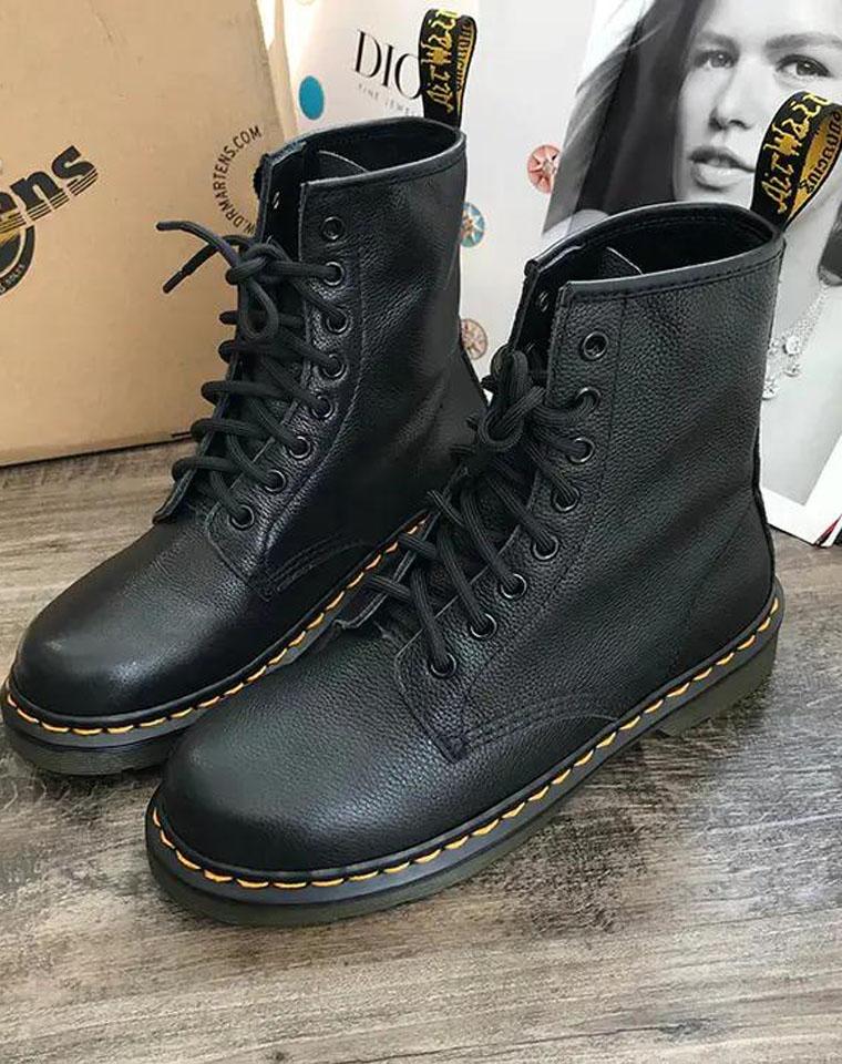 最舒服最帅气!! 仅328元  Dr Martens马丁博士原厂原单 8孔真皮  英伦风厚底马丁靴   短靴