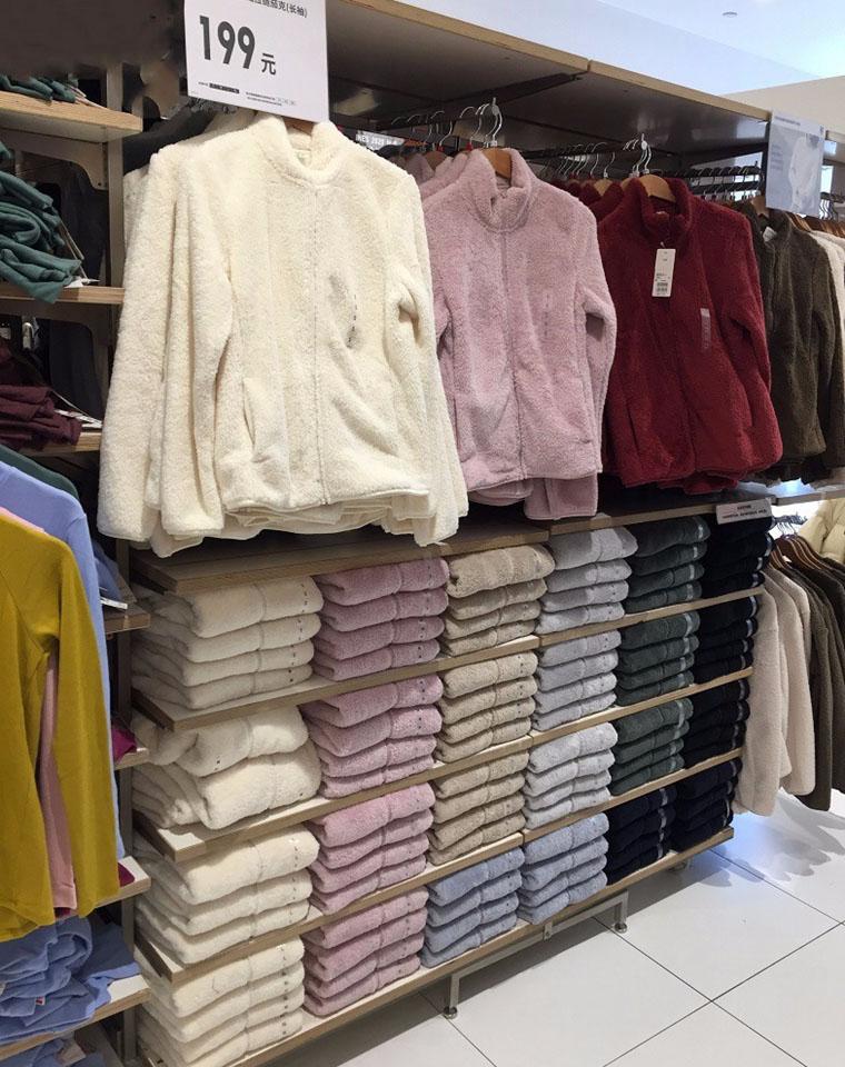 最实穿的优衣库棉花糖  仅79元 UNIQLO优衣库纯正原单  专柜199元   暖暖双面绒 立领一体绒保暖外套