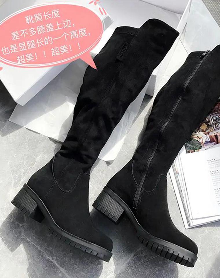 千挑万选  最棒的过膝靴  仅328元   ECCO纯正原单  过膝弹力靴 秋冬皮靴 高筒长靴