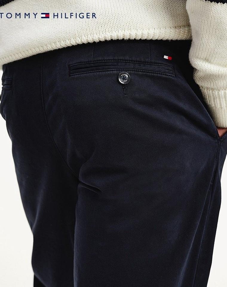 年货节 仅148元给纯爷们的福利  加绒通勤裤 仅168元 美国Tommy Hiligher汤米纯正原单   冬天一条就够了   超舒适银狐绒 加绒加厚 男士商务裤