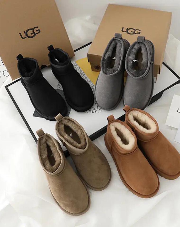 速度跟团!趁有货!周冬雨演绎  仅228元 UGG最新款!迷你短筒羊毛短靴