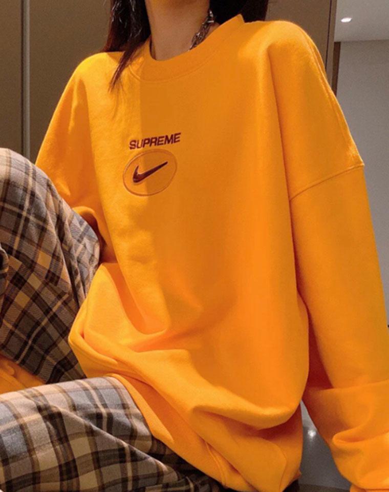 持续高能男女款!加绒保暖 仅99元 Superme x Nike的神仙合作卫衣  帅酷炸裂