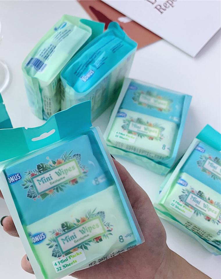 小高端 给家人每个包包里都备一份 仅3.99元 推荐大家无限囤货的湿巾