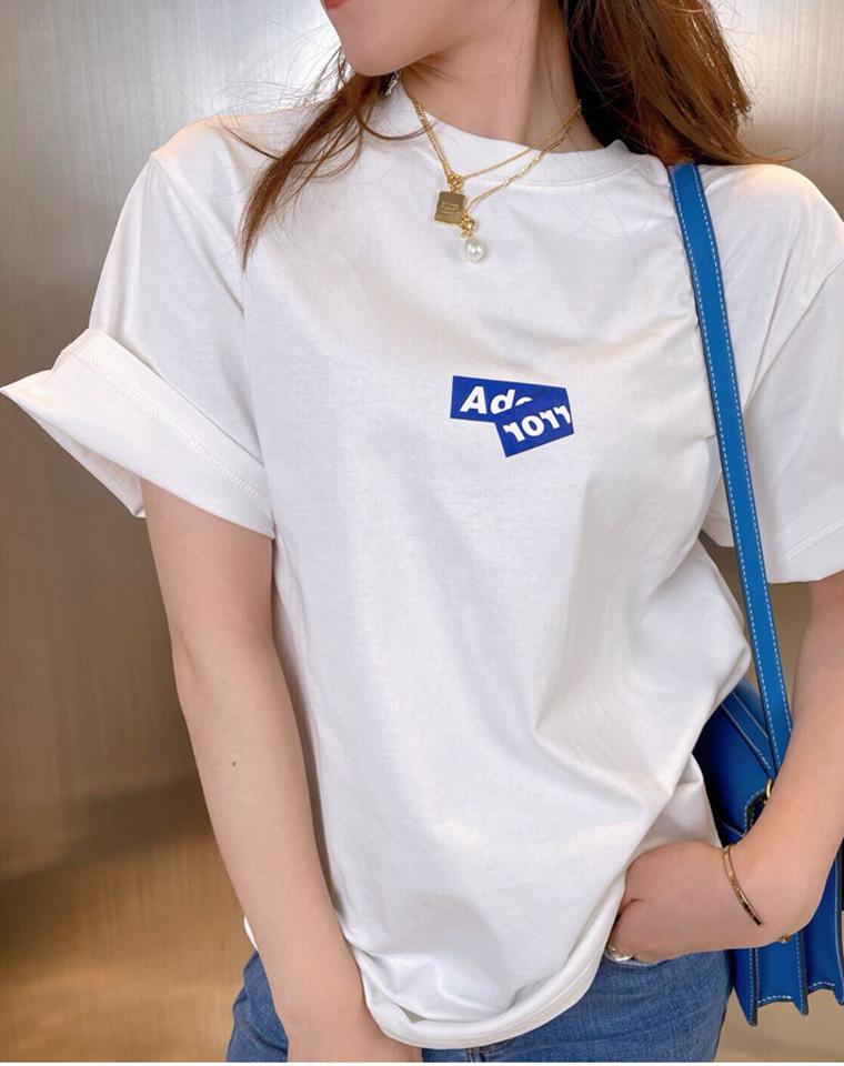 小众品牌  有钱也买不到的 Ader error  仅85元  2021春季最新 印花折纸字母圆领短袖T恤