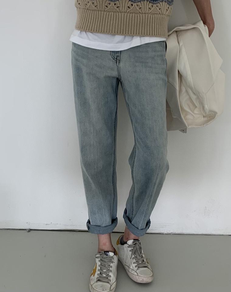 超IN!全网独家! 仅129元! EDITION纯正原单  官网在售  柔软高腰牛仔裤 洋气直筒仔裤